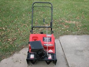 "Nice Eagle Star Snowblower 21"" Electric Start and 3 HP Tecumseh 2 Cycle Engine"