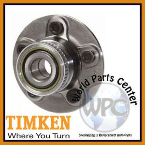 TIMKEN Rear Wheel Bearing Hub Assembly Fits Chrysler PT Cruiser Dodge Neon SX2