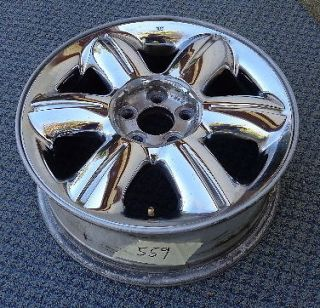 2002 2003 2004 2005 Chrysler PT Cruiser Chrome 16 Aluminum Alloy Rim Wheel