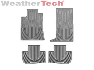 Weathertech® All Weather Floor Mats Cadillac cts w AWD 2008 2012 Grey