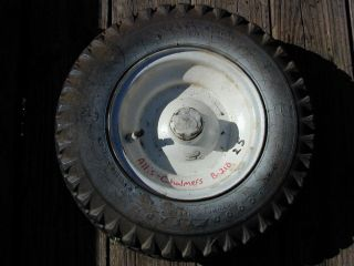 25 Allis Chalmers B210 B10 Tractor Front Tire Wheel 4 80 8