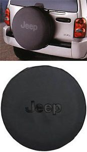 2013 Jeep Wrangler Tire Cover Black Jeep Logo Mopar Genuine Brand New