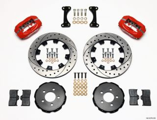 Wilwood Disc Brake Kit Front 01 08 Chrysler PT Cruiser 03 05 Neon SRT 4 Red DRLD