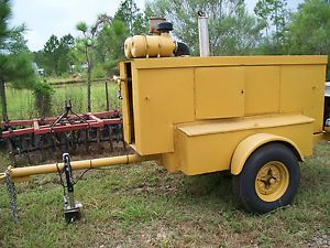 Sullair Commercial Portable Air Compressor w John Deere Diesel Engine