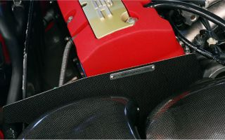 Password JDM Dry Carbon Fiber Engine Heatshield S2000