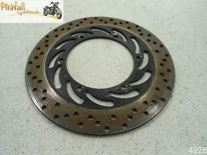 02 Yamaha Road Star Warrior XV1700 Rear Brake Disc Rotor