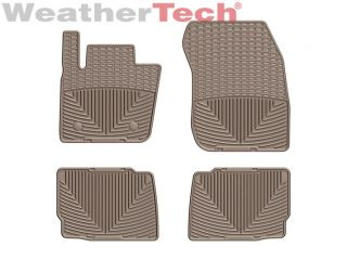 Weathertech® All Weather Floor Mats Ford Fusion 2013 2014 Tan