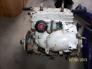 Factory 96 02 SeaDoo GTX GTI 787 Complete Engine Motor w Exhaust Manifold