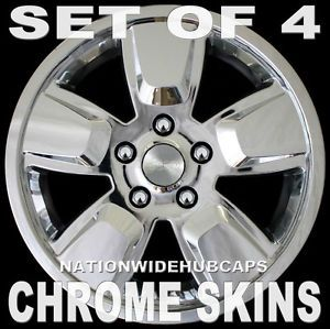 "Jeep Liberty 16"" 5 Spoke Chrome Wheel Skins Hub Caps 16x7 Plated Rim Covers New"