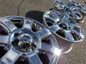 18 Ford F150 Expedition Ranch FX4 Limited Factory Stock Chrome Wheels Rims