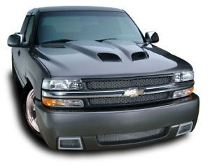Cervinis Silverado RAM Air Type III Hood 99 02