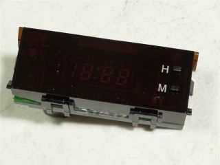 2001 2002 Toyota Corolla Dash Digital Clock SN1B860