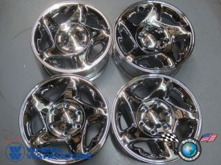 00 04 Toyota Tacoma Tundra Factory 16 Chrome Wheels Rims 4Runner Sequoia 69395