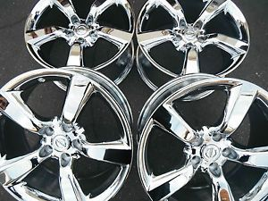 "18"" Nissan 350Z 350 Z Maxima Altima Alloy Wheels Rims Factory 300zx Chrome"