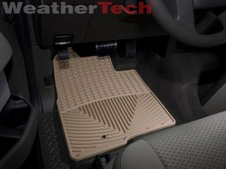 Weathertech® All Weather Floor Mats Ford F 150 Regular Cab 2009 2010 Tan