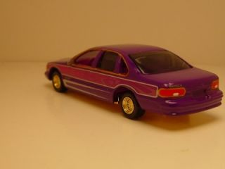 JL '95 Chevy Caprice Low Rider Show Car Limited Edition Diecast Replica