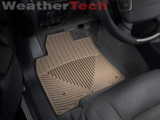 Weathertech® All Weather Floor Mats Toyota Land Cruiser 2008 2013 Tan