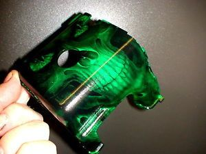 HPI Baja The Green Demon Reaper Skull Engine Cover Motor Engine 5B 5T 5SC Tire