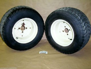 Cub Cadet 3208 3000 Ser Garden Tractor Pair Rear Tires Rims 24X10 50 12 Tire
