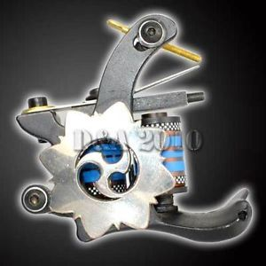 Pro 8 Wrap Coils Powerful Handmade Tattoo Machine Gun Spring Shader Cast Iron