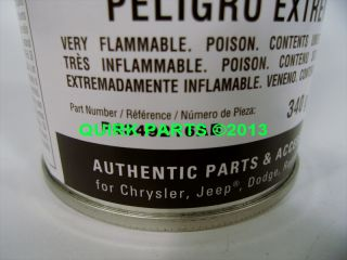 Mopar Chrysler Dodge Engine Enamel Restoration Paint Hemi Orange P N P4349216