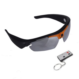 Remote Control 720P HD Spy Sunglasses Camera with 170 Degree Wide Angle Lens