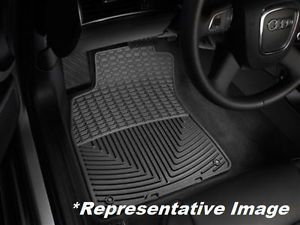 Weathertech® All Weather Floor Mats Toyota Tacoma Double Cab 2012 2013 Black