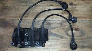John Deere 322 Ignition Coils and Bracket Yanmar Gas Engine 3TG66UJ Electronic