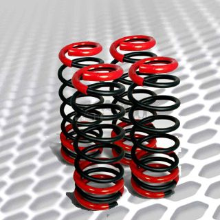 1990 1997 Honda Accord Black lowering Springs