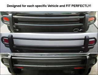 06 10 Hummer H3 Rear Bumper Guard Black