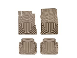 Weathertech® All Weather Floor Mats 2010 2012 Ford Mustang Tan