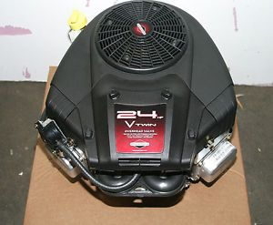 "Briggs and Stratton Intek V Twin 24HP 24 HP 1"" x 3 5 32"" Rider Mower Engine"