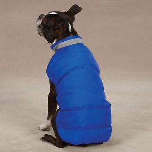 Casual Canine North Paw Puffy Dog Vest Winter Warm Pet Coat All Sizes XXS XL