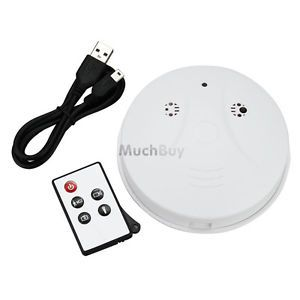 DVR Smoke Detector Surveillance Hidden Camera Nanny Camcorder Security Remote
