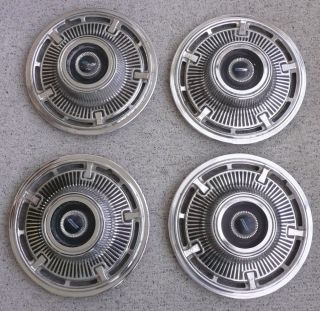 Set of 4 1965 Chevrolet Corvair Aftermarket Hub Caps