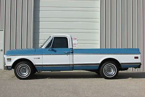 1971 Chevrolet Chevy C10 Cheyenne Long Bed Pickup Truck V8 Automatic