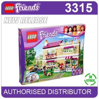 3315 Lego Olivias House Girls Lego Friends Heartlake Age 6 12 695 Pieces New