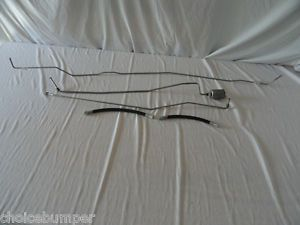 Chevy S10 Pickup Truck Fuel Line Kit Reg Cab 7 5 ft Bed GMC Sonoma