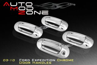 03 12 Ford Expedition 4DR Chrome Door Handle Cover