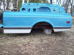 67 72 Chevy Chevrolet GMC Truck Bedside 4x4 2WD Driver Side