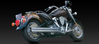 Vance Hines Longshots Original Full Exhaust Chrome 18507