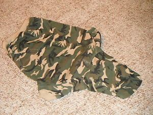 Casual Canine Pet Dog Costume Camo Size Large