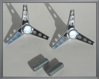"Custom Chrome ""Tri Bar"" Air Cleaner Bolt Kit for Harley Sportster Filter Cover"