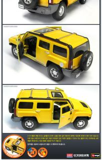 New Hummer H3 1 32 Diecast Metal Body Academy Model Kit Car Die Cast Diecasting