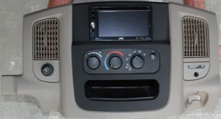 Dodge RAM 2002 2003 2004 2005 1500 2500 3500 Double DIN Navigation Dash Kit