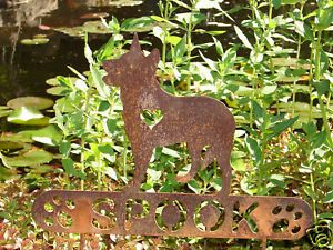 Australian Cattle Dog Pet Memorial Garden Yard Stake K9