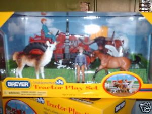 Breyer Horse Stablemate Tractor Play Set New Item