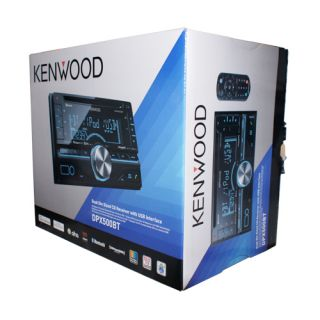 New Kenwood DPX500BT Car Audio Double DIN CD  Stereo Blutooth iPod Control