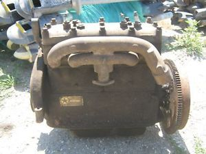 1920s Durant Star C F Automobile 4 Cyl Continental Engine Motor W4 Antique Car