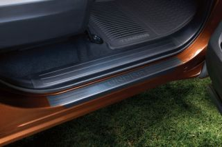2014 Toyota Tundra Crew Max Cab Door Sill Protectors Factory Approved